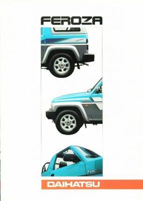 Daihatsu Feroza Dx,el,hd-c,hd-e,softtop,hardtop,ca