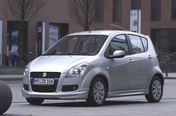 Suzuki Splash bespoilerd