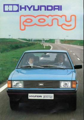 Hyundai Pony Sedan L,glx,gls