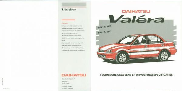 Daihatsu Valera Sgi,sri,16v