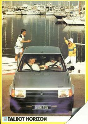 Talbot Horizon Ls,ld,gl,gld,premium