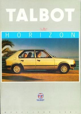 Talbot Horizon Ls,gl,s,gls,sx