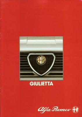 Alfa Romeo Giulietta 1.6, 2.0, 2.0 Td