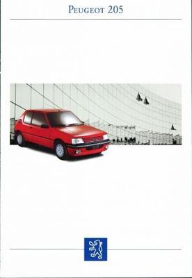 Peugeot  205 Gr,cti,xr,gr,xrd,grd,xs,gt,xdt,gdt,gt