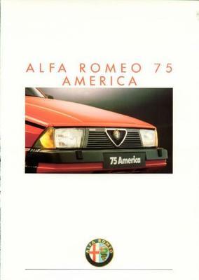 Alfa Romeo 75 America 3.0 V6,1.8 Turbo America