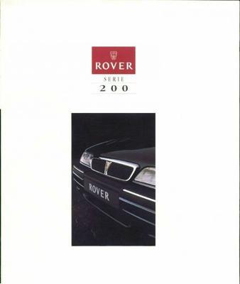 Rover 200 Cabriolet,214i,si,sli,216 Sli,220 Gsi,tu
