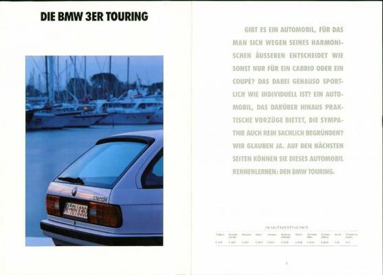 BMW 316i,318i,325i,325ix,324td Touring