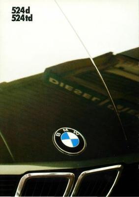 BMW 524d,524td