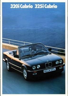 BMW 320i,325i Cabrio