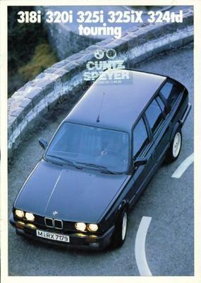 BMW 318i,320i,325i,325ix,324td Touring