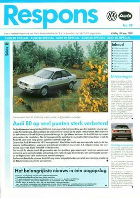 Audi 80 1.9 Tdi,2.0 E,2.3 E,2.8 E,quattro