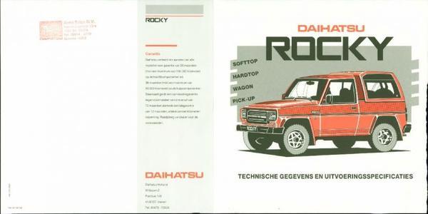 Daihatsu Rocky Wagon,diesel,el,bx,dx,turbo,
