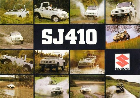 Suzuki Commercial Sj410,q,v,k