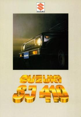 Suzuki Commercial,pick Up,de Luxe Sj410q,v,qx,vx