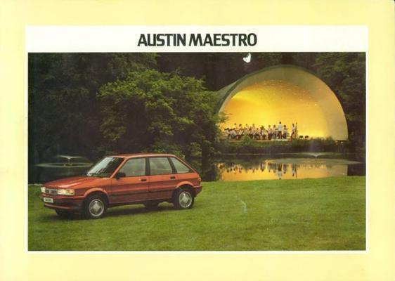 Austin Maestro 1.3, Special,le,1.6l,1.6 Hls,austin