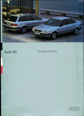 Audi 80 Avant,limousine Avant,2.0e,2.8e,td,tdi