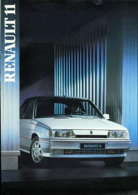 Renault 11 Gte,gtx,txe,gtetd,tc,tl