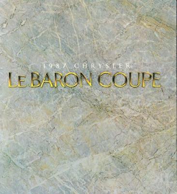 Chrysler Le Baron Le Baron Coupe