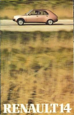 Renault 14 Tl,gtl,ls,ts