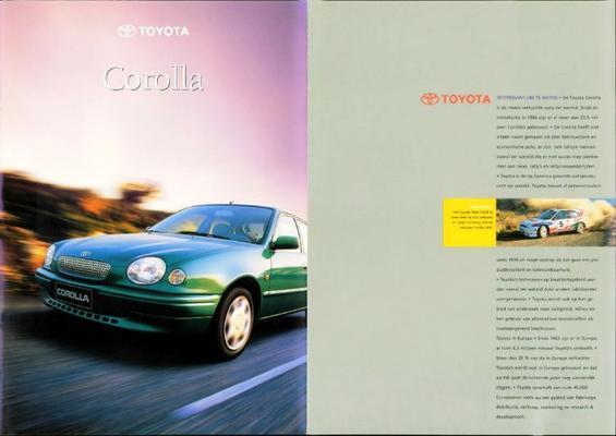 Toyota Corolla 1.3,1.6,2.0d,wagon,