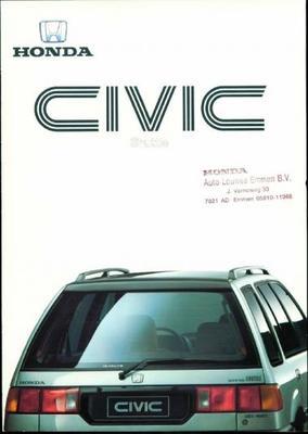 Honda Civic Shuttle,sedan, 16v,4wd,gl