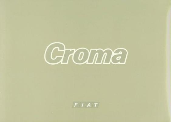 Fiat Croma Turbo Ie,d,turbo Diesel,cht,