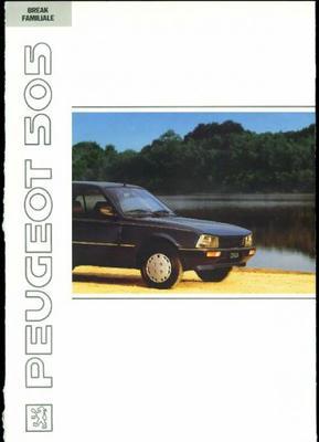 Peugeot 505 Break Familiale Sx,sxd,