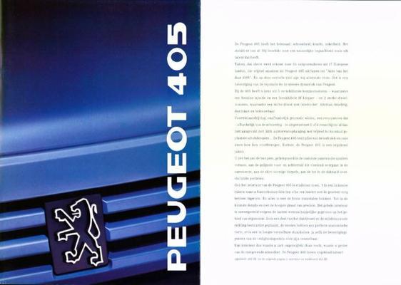 Peugeot 405 Gl,gld,gr,grd,sr,sri,srd Turbo,mi 16