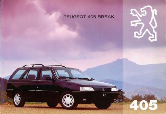 Peugeot 405 Break Srsrisrdt, Glgld