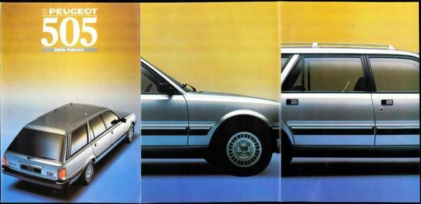 Peugeot 505 Break,familiale Gl,gld,gr,grd,gti