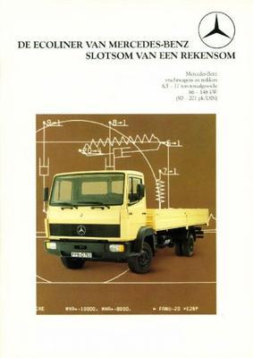 Mercedes-benz Ecoliner,vrachtwagens,trekkers