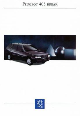 Peugeot 405 Break Glgld, Grgrd, Sri, Srdt