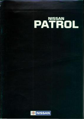 Nissan Patrol,hardtop,wagon Gr,van,r