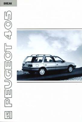 Peugeot 405 Break Gri X4,sri,gli,gld,gri,grd,grdt