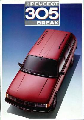 Peugeot  305 Break Gl,gld,gr,srd