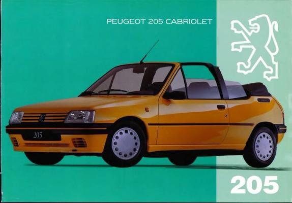 Peugeot Cabriolet 205