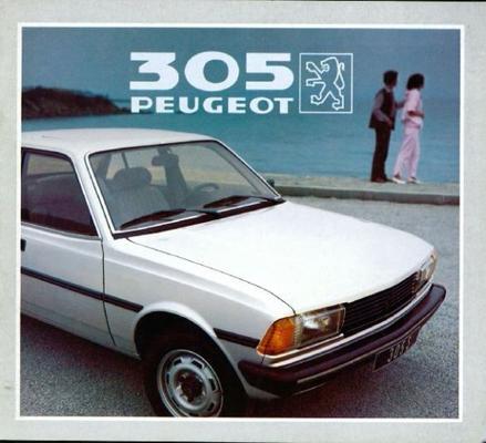 Peugeot  305 Gl,gld,gls,sr,srd,s,break Gl,gld,gls,