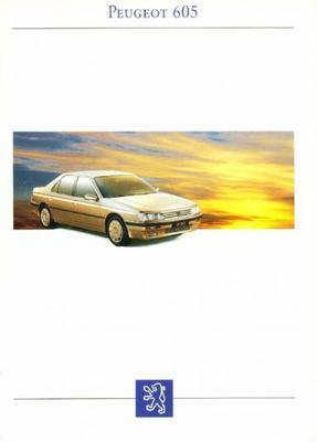 Peugeot 605 Sli,sld,sri,srti,sr3.0,srd,srdt,sv3.0,