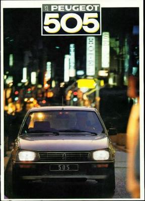 Peugeot 505 Gl,gld,gr,grd,sr,srdt,gti,gtdt,turbo I