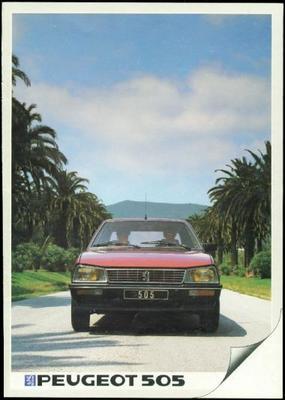 Peugeot 505 Gl,gr,sr,sti,gld,grd,srd,srd Turbo