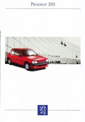 Peugeot  205 Gr,cti,xr,gr,xrd,grd,xs,gt,cj