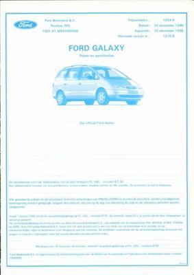 Ford Galaxy Clx,glx,ghia,ultima