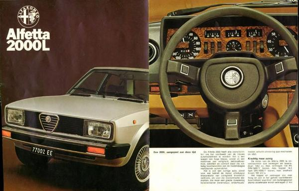 Alfa Romeo Alfetta 2000 L