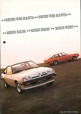 Opel Manta Cc,gte,sr