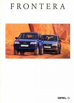 Opel Frontera Spot