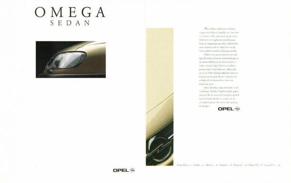Opel Omega Sedan Mv6,gl,cd