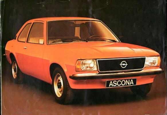 Opel Ascona Sr,de Luxe,n,s
