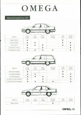 Opel Omega Basis,travel,gl,gl Sport,cd Diamond,300
