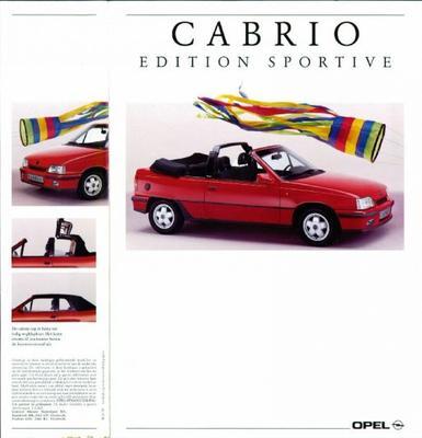 Opel Opel Kadett Cabrio Edition Sportive
