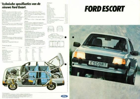 Ford Escort,custon,stationwagon Ghia,xr3,l,gl